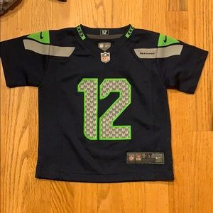 3T Seattle Seahawks Jersey (12 - Fan)